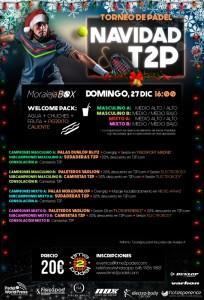 Cartel del Torneo de Time2Pádel en Moraleja Box