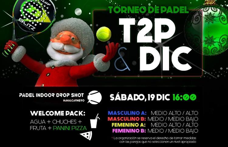 Manifesto del Torneo Time2Pádel in Padel Indoor Drop Shot