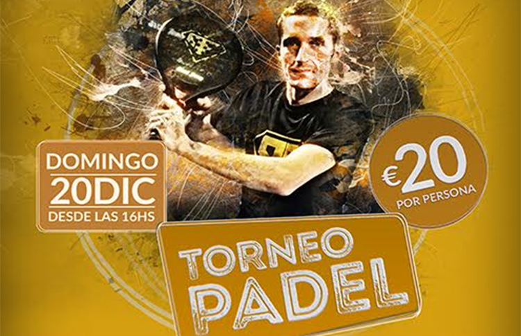 Poster of the Paddle Un torneo principale in PadelSport Home