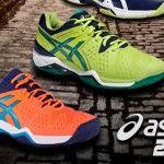 ASICS vuelve a sorprender con su colección de zapatillas de pádel 2016