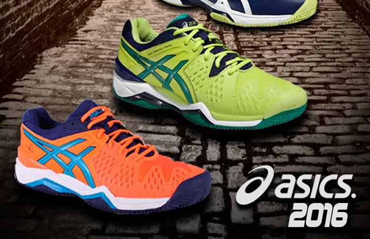 0fdf82c70 ASICS vuelve a sorprender con su colección de zapatillas de pádel 2016