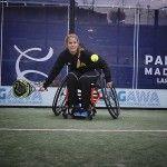 Mi primer partido en silla de ruedas, por Belén Montes