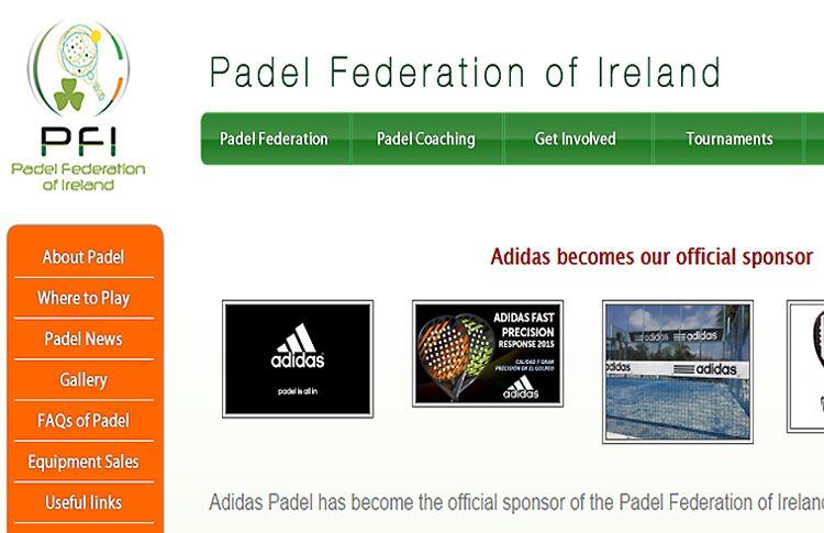 explorar aceleración Ritual  Adidas, brand of reference for the Irish paddle | Padel World Press 2021