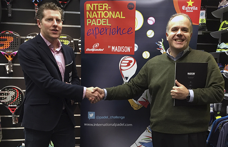 Bullpadel rejoint l'expérience internationale de Padel par Madison