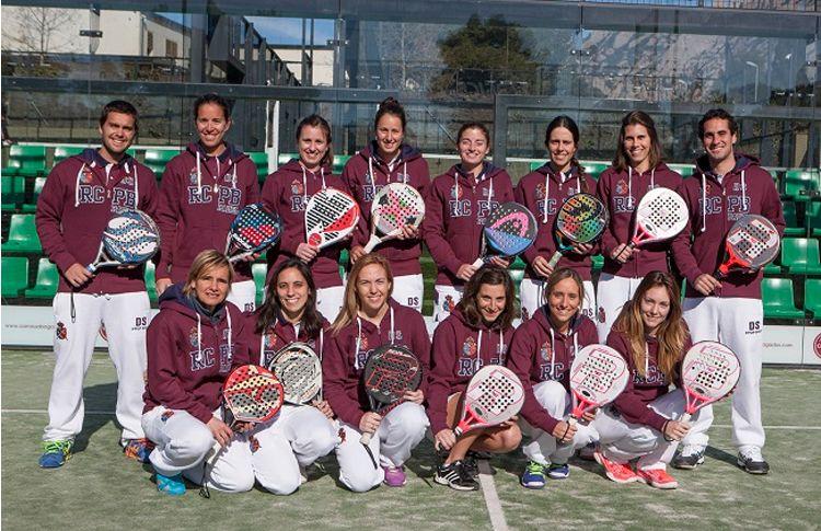 L'équipe féminine du Real Club de Polo de Barcelone prépare sa participation au Cpto de España de Equipos de 1