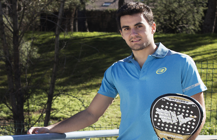Raúl Marcos, quinta cara nueva para el equipo de WingPádel