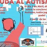Cartel del Torneo de Ayuda al Autismo