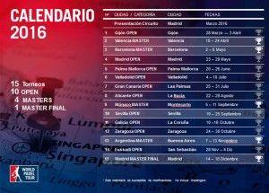 El Circuito World Pádel Tour 2016 ya está en marcha