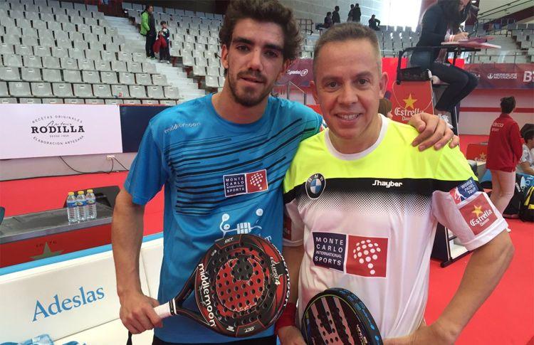 Gaby Reca y Juan Lebrón debutan con victoria en el Gijón Open