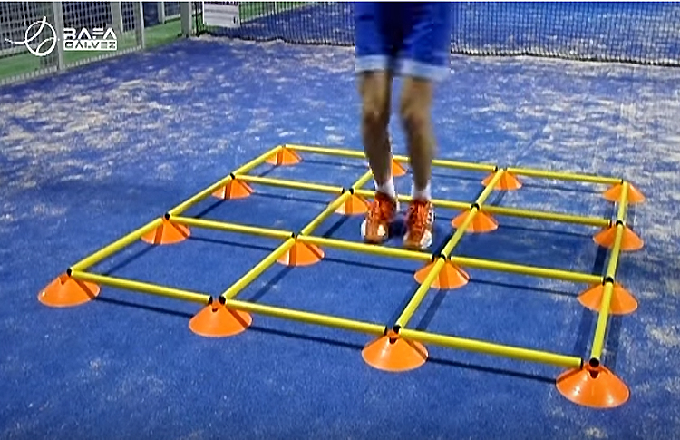 Juego de pies: Coordinación y Agilidad
