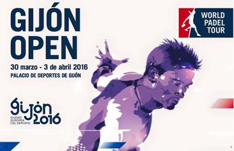 Cartel del Estrella Damm Gijón Open 2016