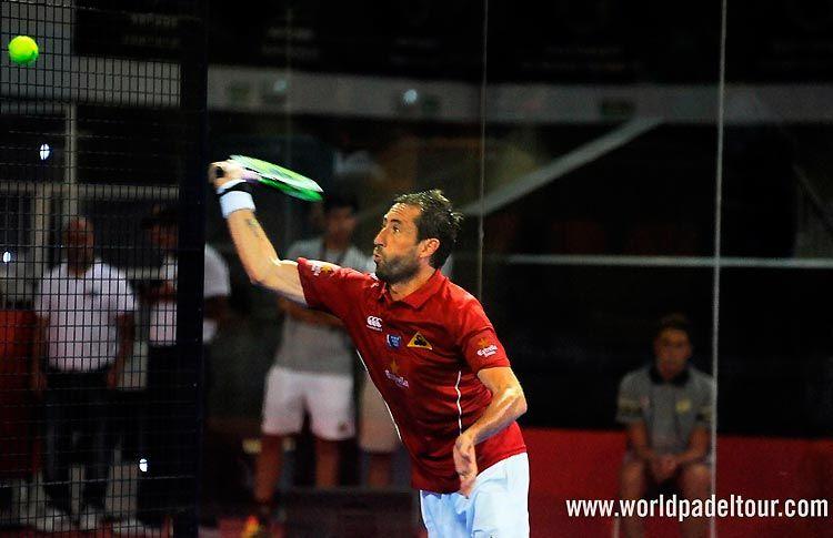 Maxi Grabiel, en acción en el Gran Canaria Open 2017