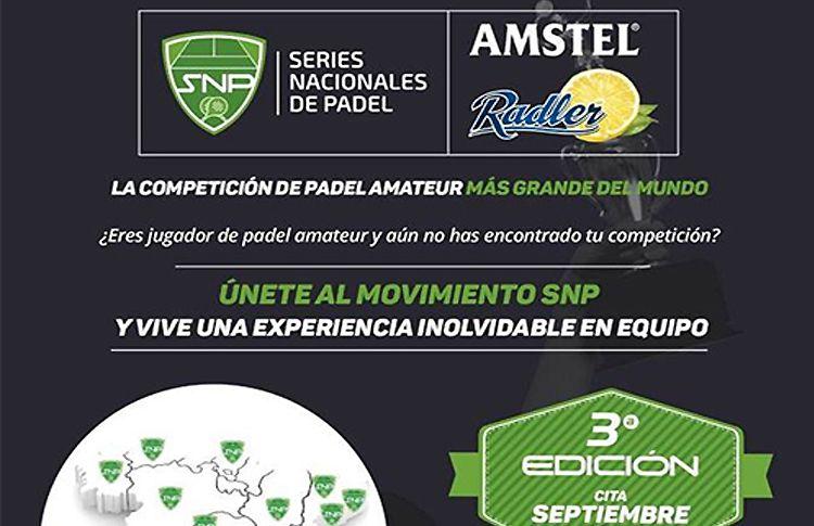 Comienza la cuenta atrás para la IIIª Edición de las Series Nacionales de Pádel