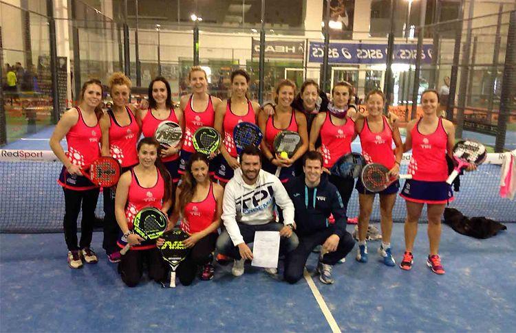 L'équipe du Tarragona Pádel Indoor, qui jouera dans le championnat espagnol par catégorie 1 Teams