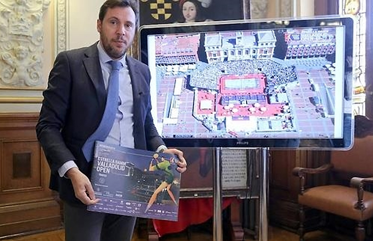 El Estrella Damm Valladolid Open se volverá a jugar en la Plaza Mayor