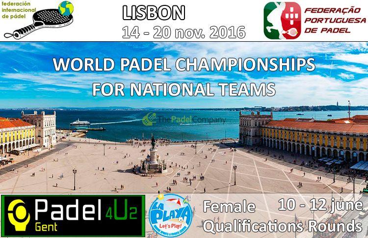 Portugal, lieu du XIIIème Championnat du Monde des Equipes et des Equipes Nationales