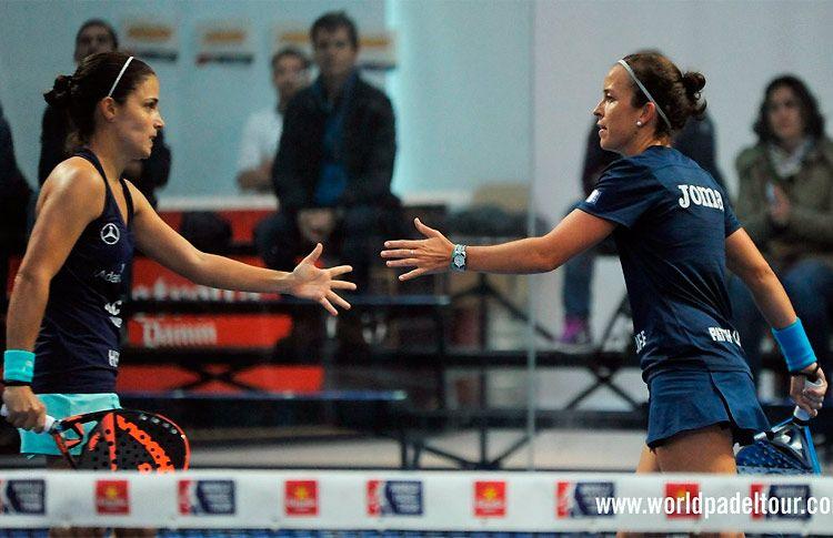 Patty Llaguno-Eli Amatriain, en acción en el A Coruña Open 2016