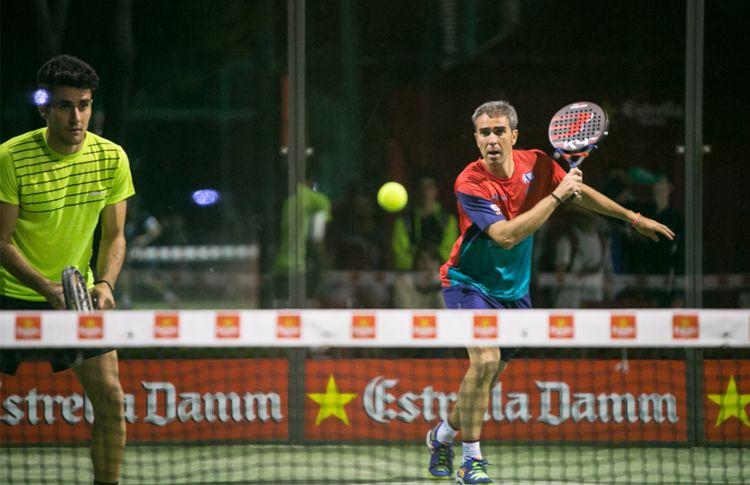 Raúl Díaz-Raúl Marcos, au troisième tour du circuit Estrella Damm