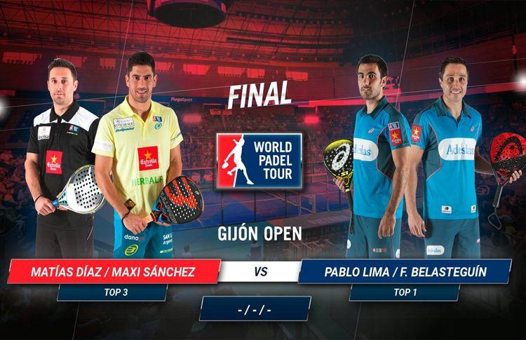 Gijón Open: due grandi coppie si affrontano nella grande finale