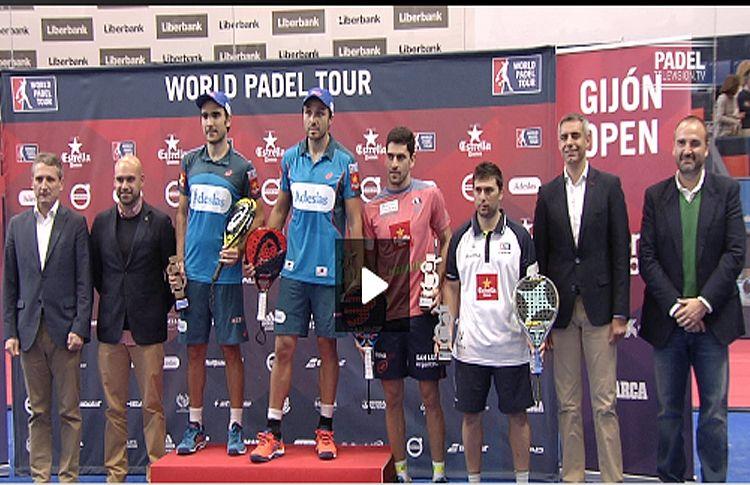 PadelTelevisón nos ofrece el resumen de las semifinales y la final del Gijón Open
