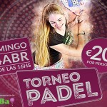 Poster del torneo A Tope Paddle sui campi indoor GET