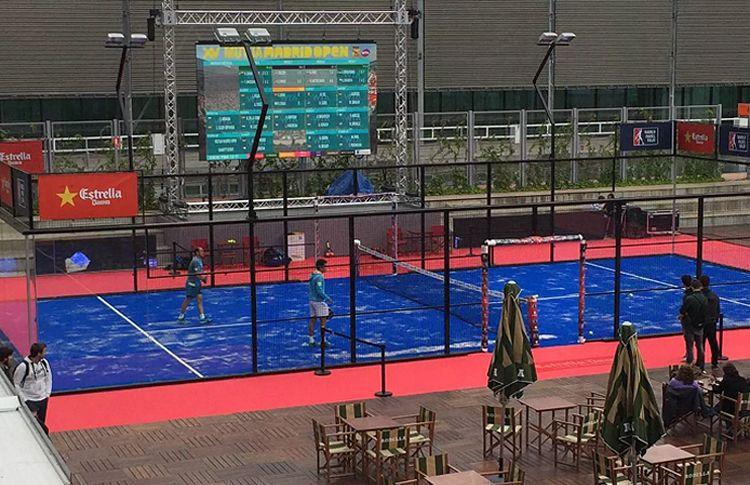 La pagaie sera très présente au Mutua Madrid Open