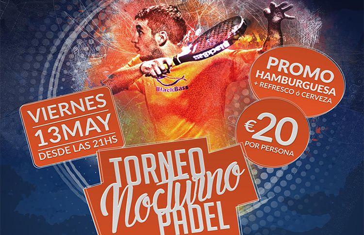 Cartel del Torneo de A Tope de Pádel en NovoPádel