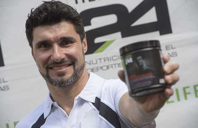 Agustín Gómez Silingo, integrante del Herbalife Pádel Team