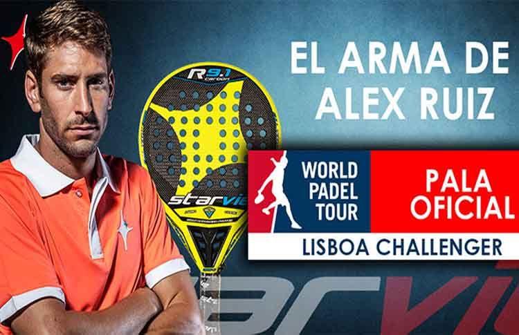 ¿Quieres ganar la pala con la que Álex Ruiz conquistó el Lisboa Challenger?