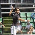 David Leal-Ricardo Martínez, en acción en el Joma Barcelona Challenger