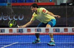 Cristian Gutiérrez, en acción en el Estrella Damm Palma de Mallorca Open