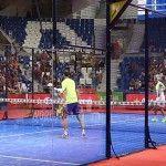 Juan Martín Díaz y Cristian Gutiérrez, en acción en el Estrella Damm Palma de Mallorca Open