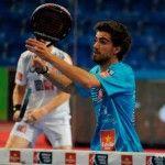 Juan Lebrón, en acción en el Estrella Damm Palma de Mallorca Open