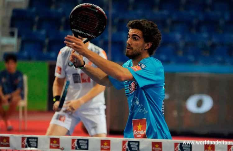 Juan Lebrón, in azione a Estrella Damm Palma de Mallorca Open