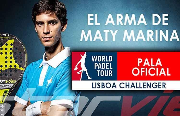 Vuoi vincere la pala con cui Maty Marina ha conquistato il Challenger di Lisbona?