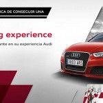 ¿Quieres ganar una Audi Driving Experience?