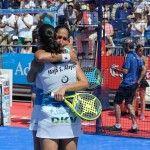 Mapi y Majo Sánchez Alayeto, en acción en el Valladolid Open