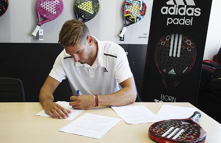 Álex Ruiz, gran fichaje para el equipo de Adidas Pádel