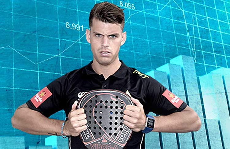 Ramiro Moyano y su evolución en el Ranking en las seis últimas temporadas