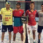 Chico Gomes-Pincho Fernández, in azione nell'anteprima di Mendoza Open