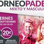 Manifesto del Torneo di A Tope of Paddle sulle tracce di Madrid Nord