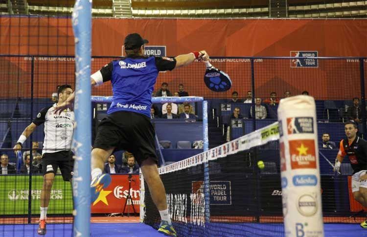 Jordi Muñoz, in azione all'An Coruña Open