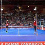 Fernando Belasteguín e Pablo Lima, in azione a Saragozza Open