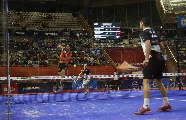 Maxi Sánchez, en acción en el A Coruña Open