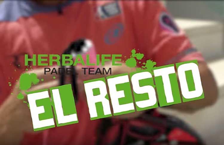 Tutoriales Herbalife Pádel Team: El resto