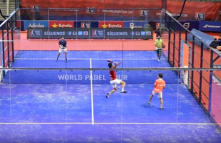 Jaime Bergareche y Martín Sánchez Piñeiro, en accion en el A Coruña Open