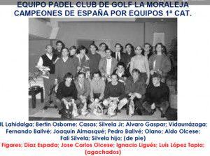 Pinceladas de la Historia del Pádel - 5: Líderes, Primeras Selecciones y Fotos para el Recuerdo