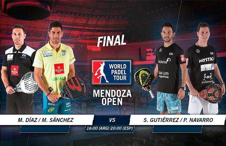 Todo listo para la final del Mendoza Open