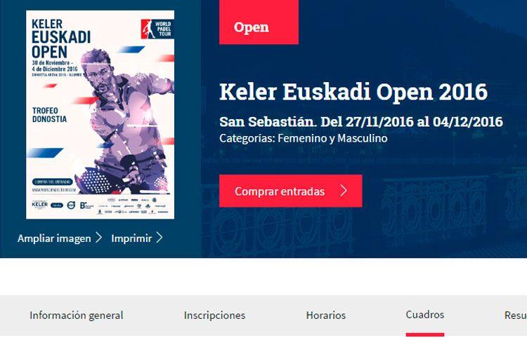 Todo listo para el inicio del Keler Euskadi Open