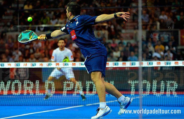 Matías Díaz, en acción en el Zaragoza Open